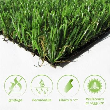 Tappeto di erba sintetica BASIC 25
