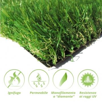 Tappeto di erba sintetica SOFT35