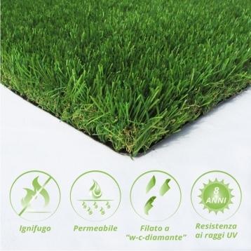 Tappeto di erba sintetica LOIETTO45