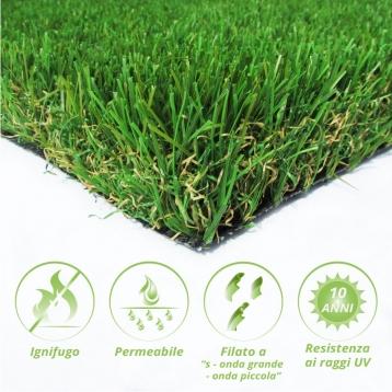 Tappeto di erba sintetica POA50