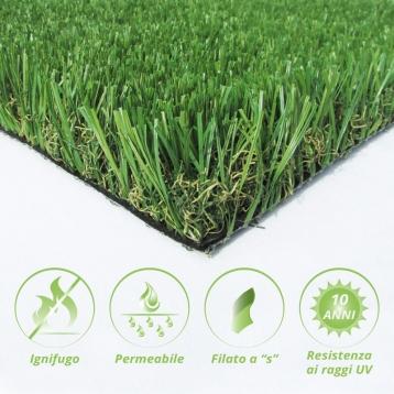 Tappeto di erba sintetica FESTUCA45