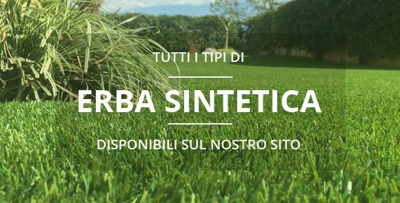 Tutti i tipi di erba sintetica in vendita sul nostro negozio online