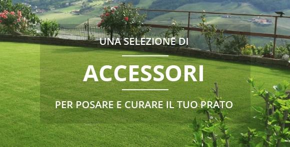 Accessori utili per la posa e la manutenzione dell'erba sintetica